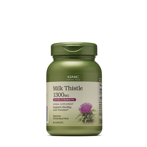 GNC HERBAL PLUS® MILK THISTLE 1300 MG
