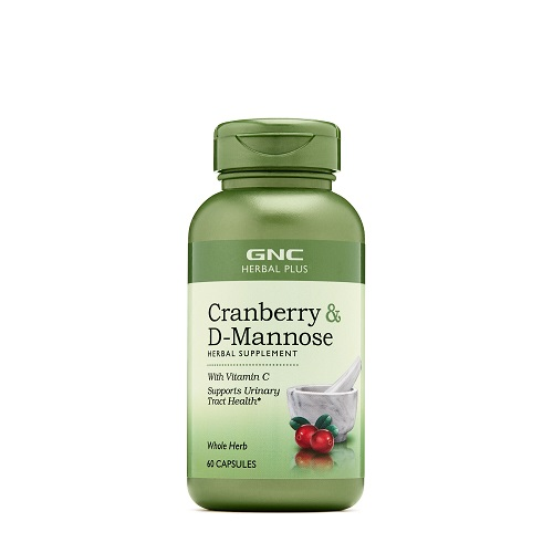 GNC HERBAL PLUS® CRANBERRY & D-MANNOSE