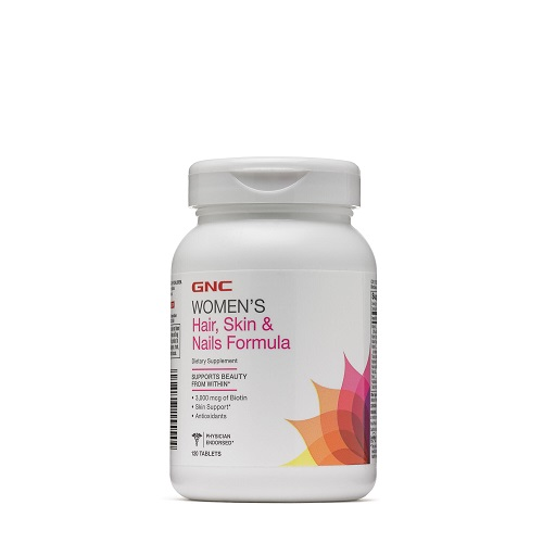GNC WOMEN'S HAIR, SKIN & NAILS FORMULA