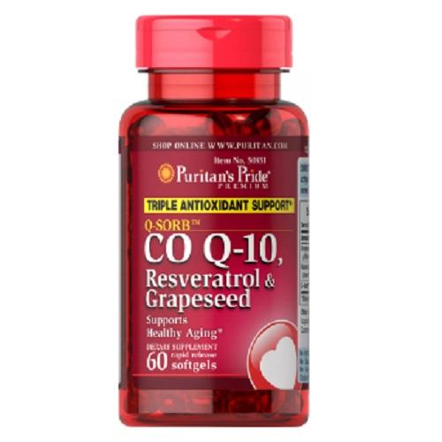 Q-SORB™ Co Q-10, Resveratrol & Grapeseed