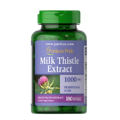 Milk Thistle 1000 mg 4:1 Extract (Silymarin)