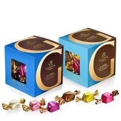 牛奶/黑巧克力混合装 各22粒装 2盒