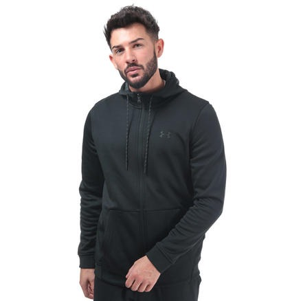 Mens Armour FZ Fleece Hoody 男士拉链卫衣外套
