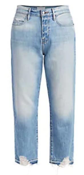 Frame 高腰牛仔裤