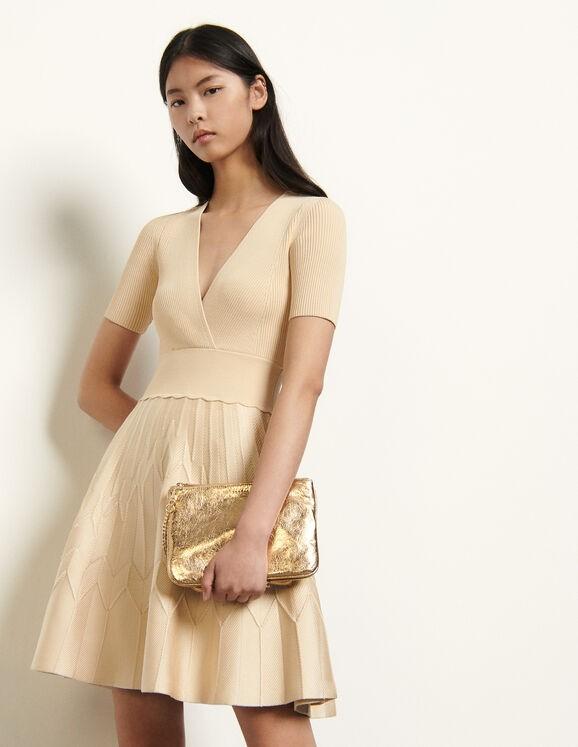 花式针织连衣裙