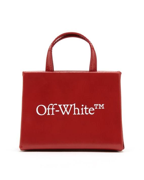 OFF-WHITE c/o VIRGIL ABLOH™ Logo 印花长尾夹挂饰单肩包