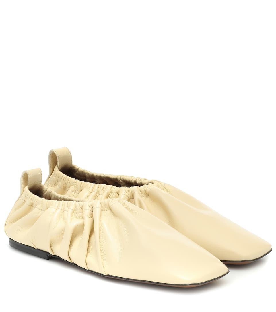 Neous  Phinia 皮革芭蕾舞平底鞋