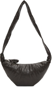 Lemaire Grey Small Croissant Bag