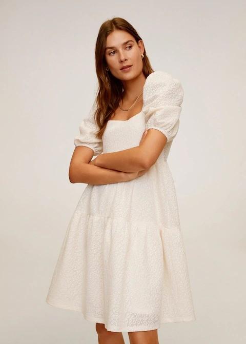 白色蛋糕裙