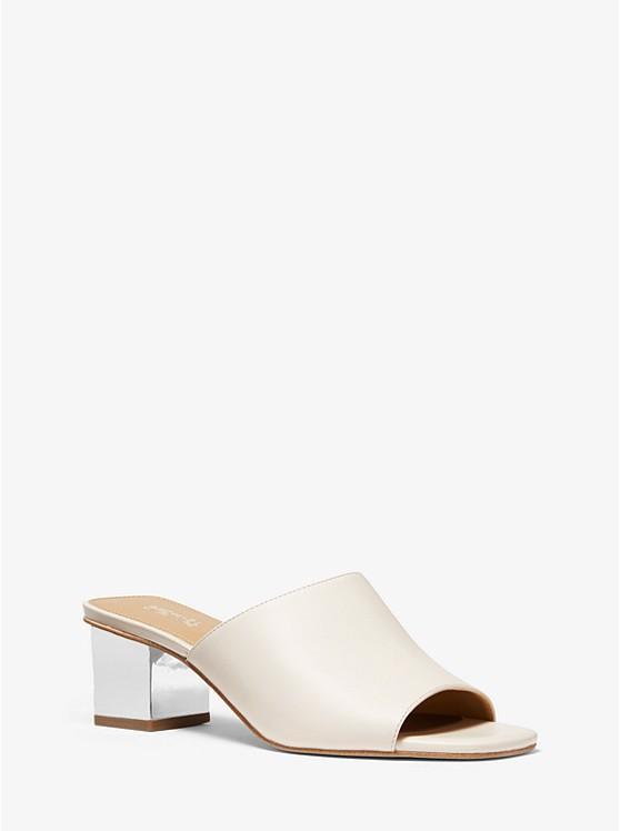 Petra Leather Mule