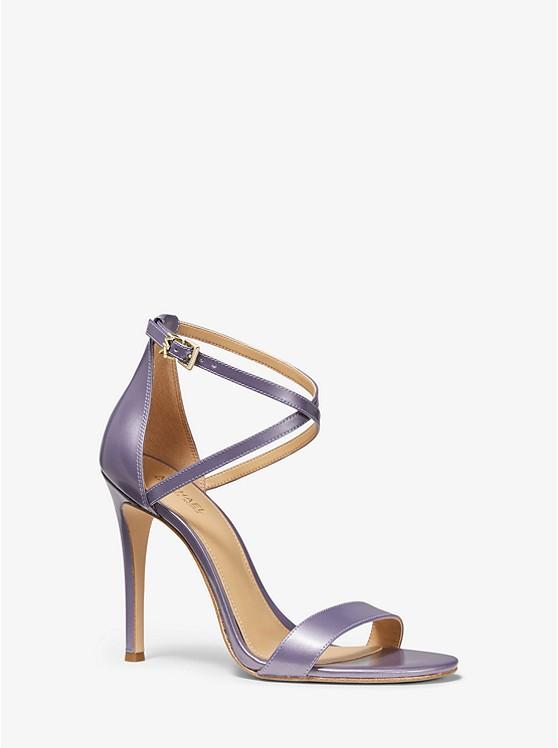 Antonia Pearlized Leather Sandal