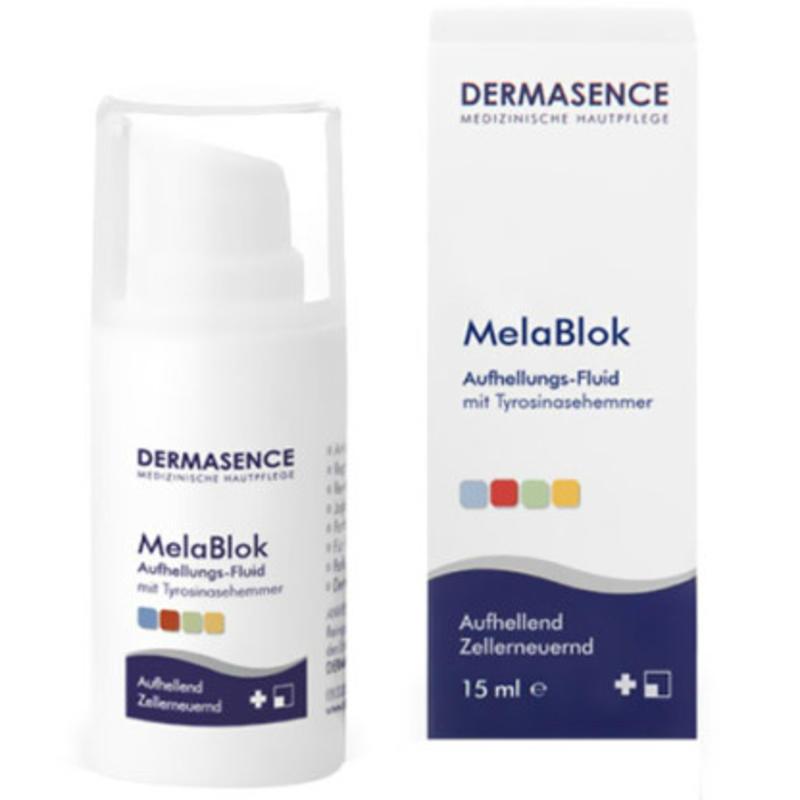 MelaBlok辅酶Q10果酸维生素C美白淡斑提亮精华 15ml