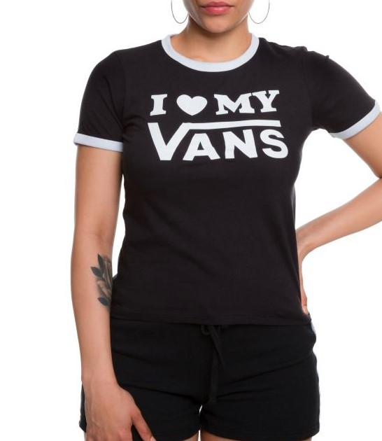 Vans 万斯 女士T恤