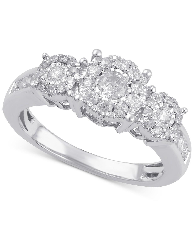 14k金钻石戒指
