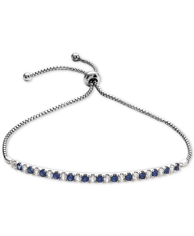 蓝宝石手链