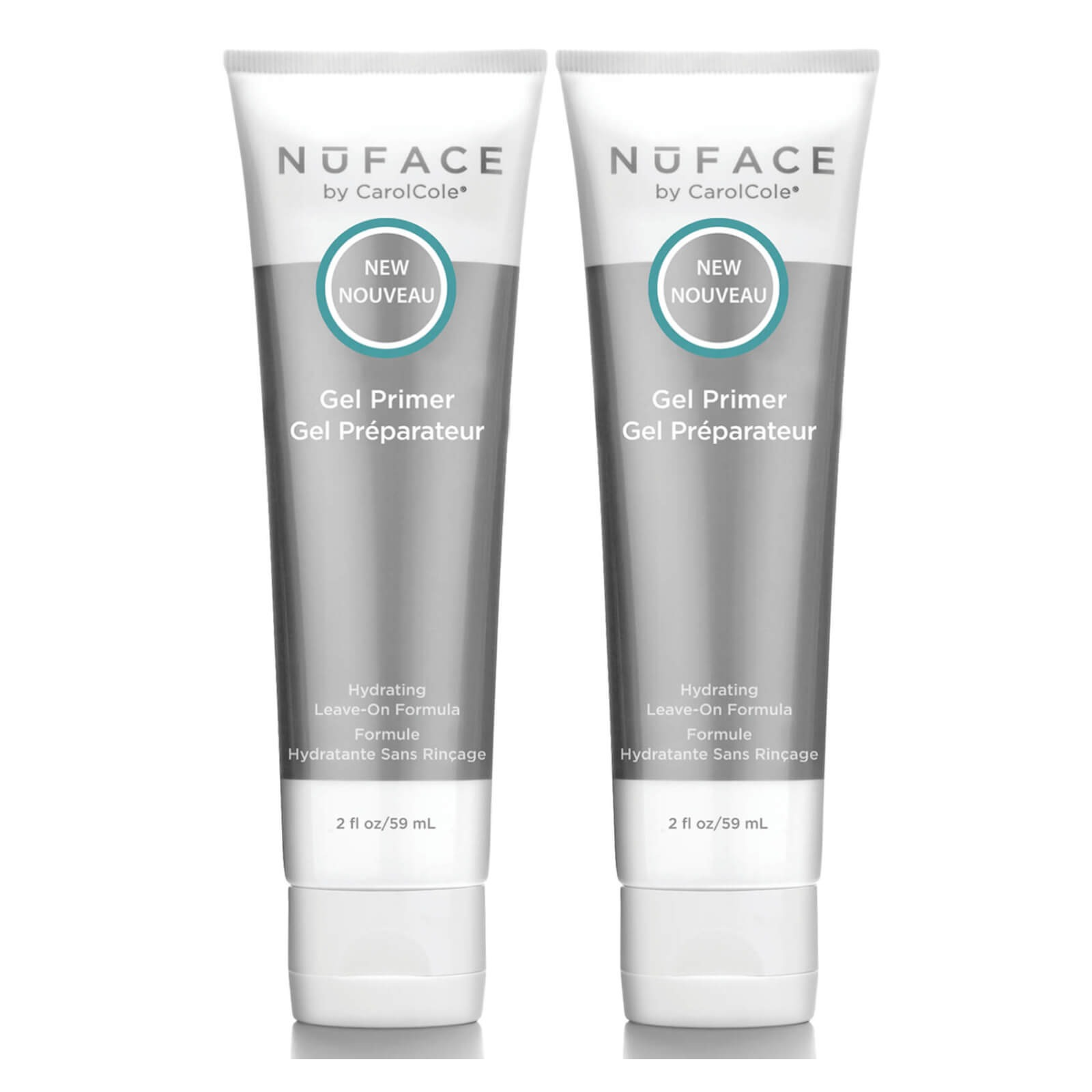 NuFACE Leave-on Gel Primer Duo 1.96 oz