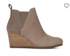 Kelsey 坡跟靴