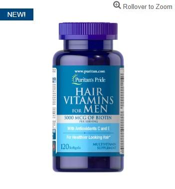 男性 护发维生素