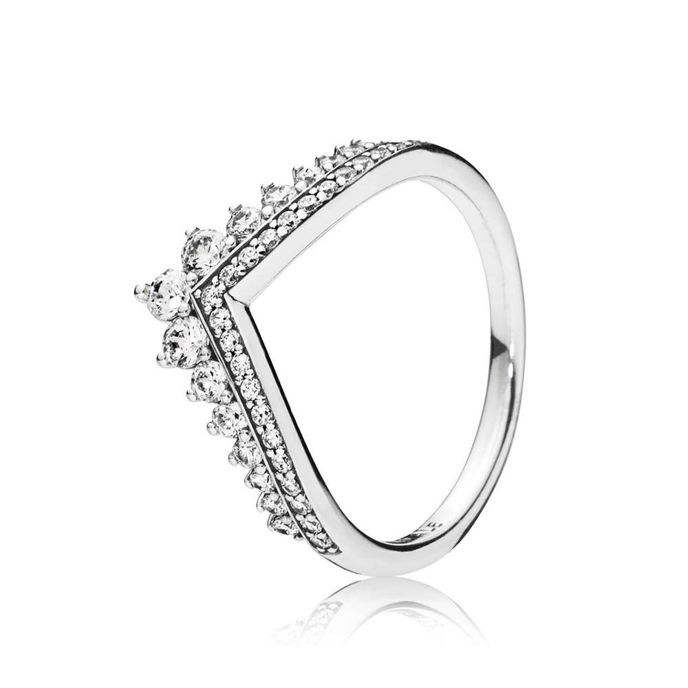 PANDORA SILVER PRINCESS WISH RING戒指