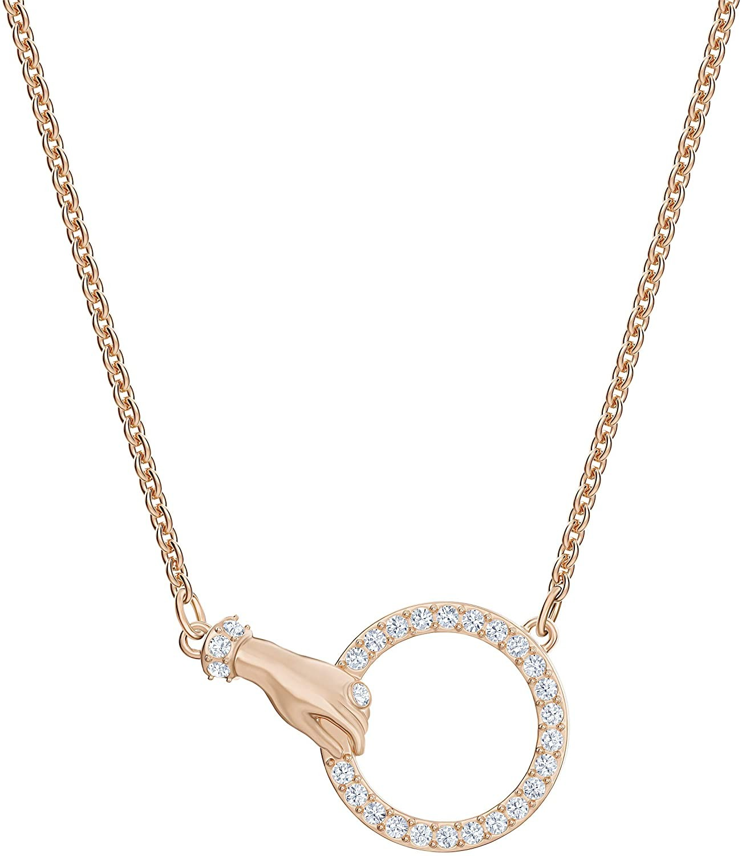 SWAROVSKI Women's Symbolic, White, Rose-gold tone plated项链