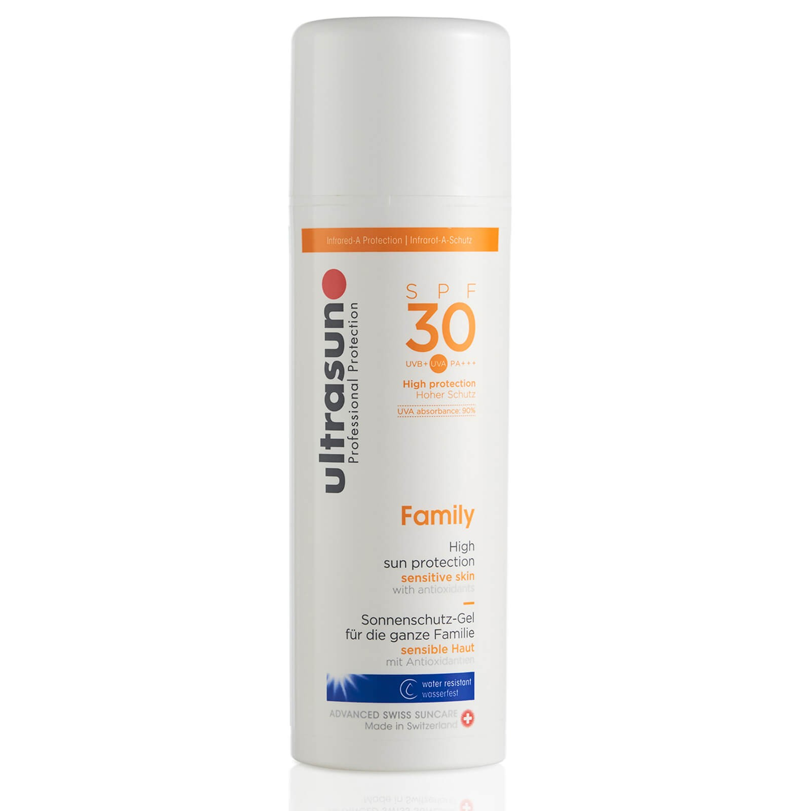 Ultrasun 超敏感日常防晒家庭装 SPF30 150ml