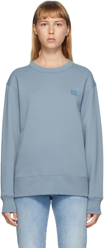 蓝色 Fairview 套头衫