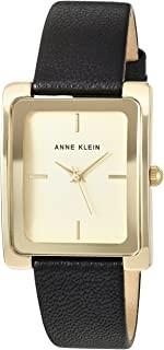 Anne Klein 皮革手表