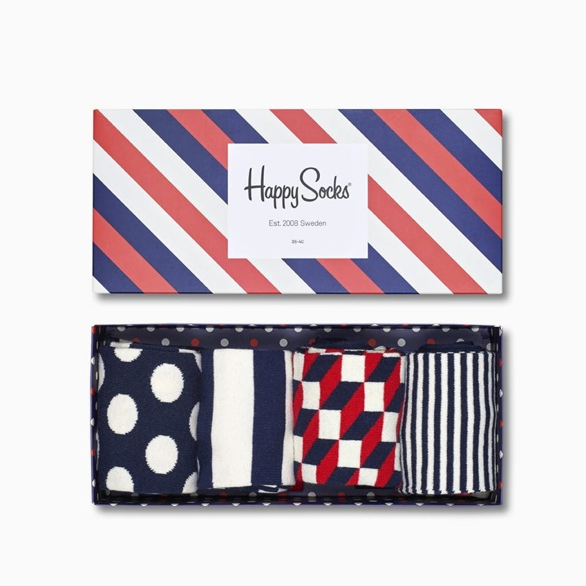 Stripe Gift Box
