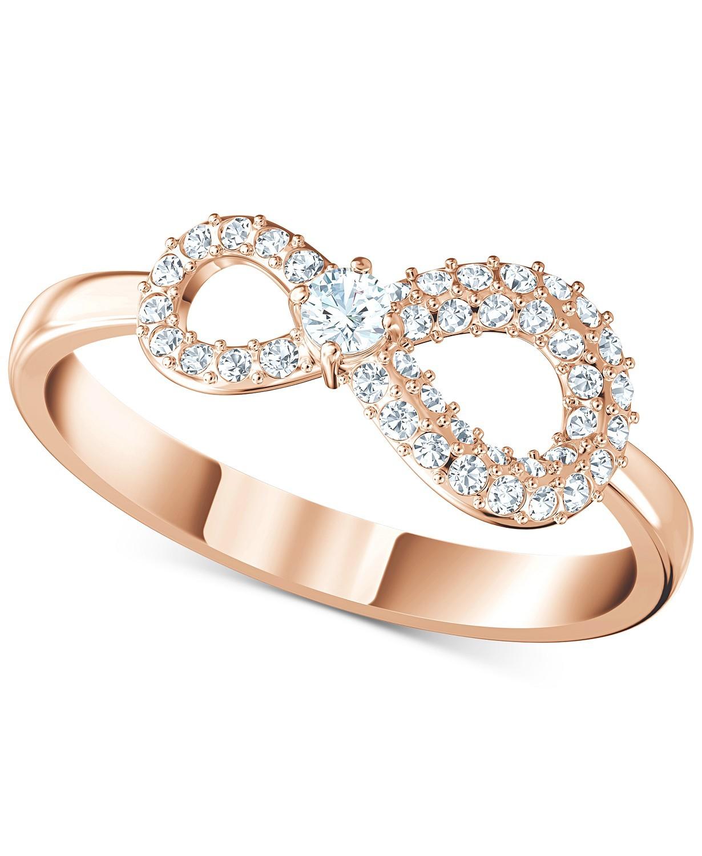 无线符号水晶戒指