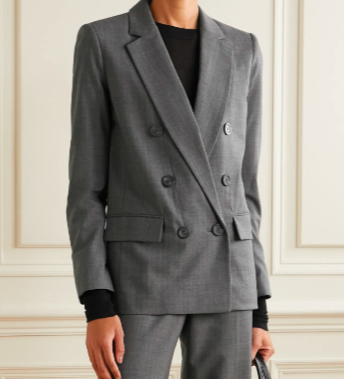 MICHAEL MICHAEL KORS 双排扣羊毛混纺西装外套