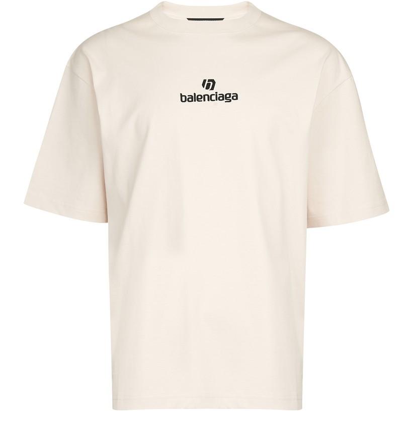 BALENCIAGA logo短袖