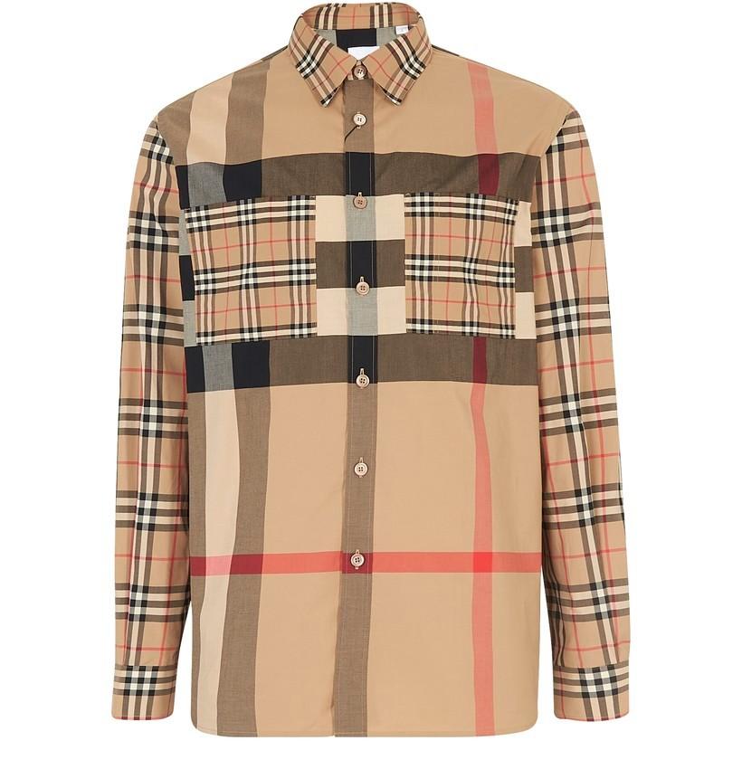 BURBERRY 格纹衬衫