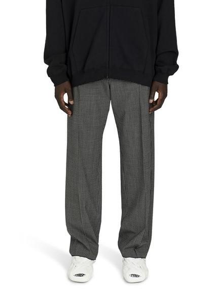 BALENCIAGA 格纹休闲裤