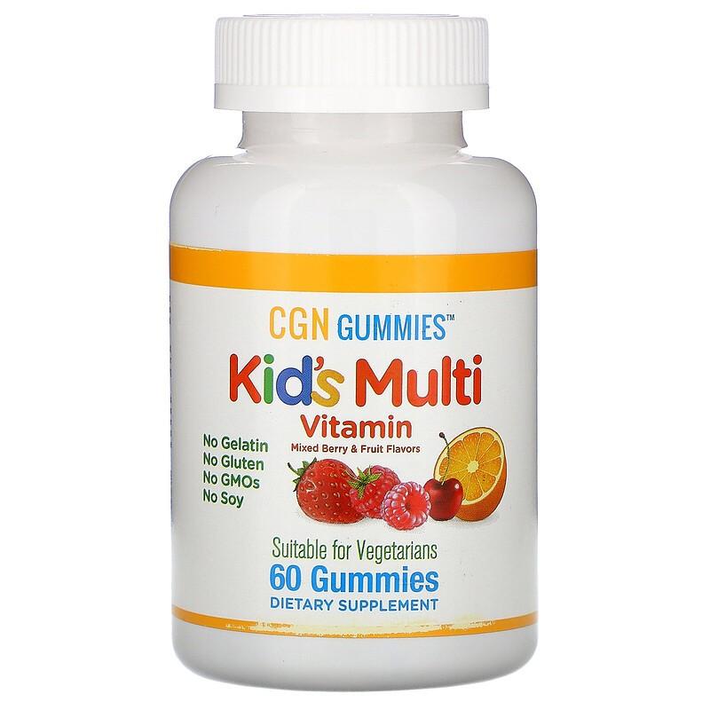 California Gold Nutrition 儿童复合维生素软糖