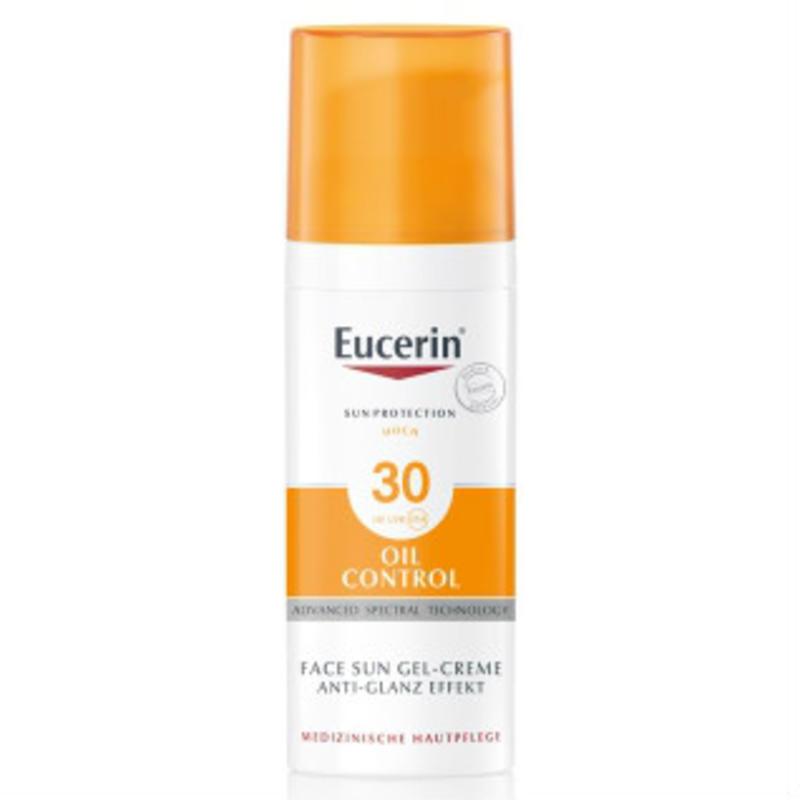 Eucerin 优色林哑光防晒乳液 LSF30 混合/痘痘/敏感肌肤 适用 50ml