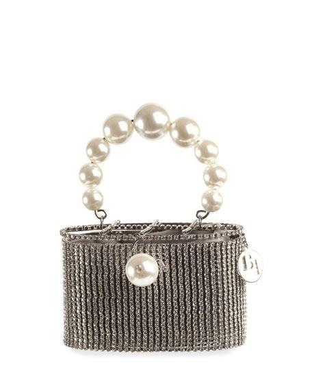 Rosantica 珍珠手提包