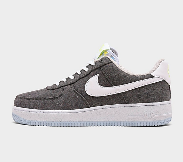 NIKE AIR FORCE 1 '07 RECYCLED CANVAS CASUAL SHOES