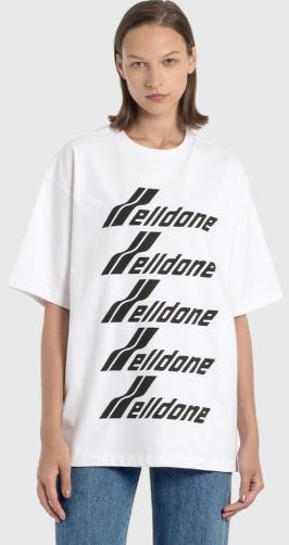 白色logo短袖