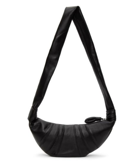 黑色牛角包