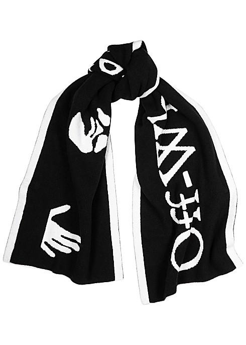 OFF-WHITE 大logo围巾