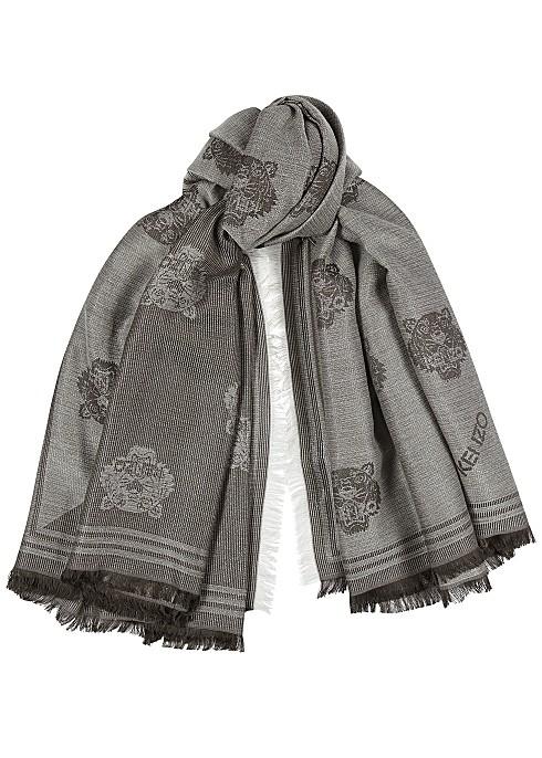 KENZO 编织围巾