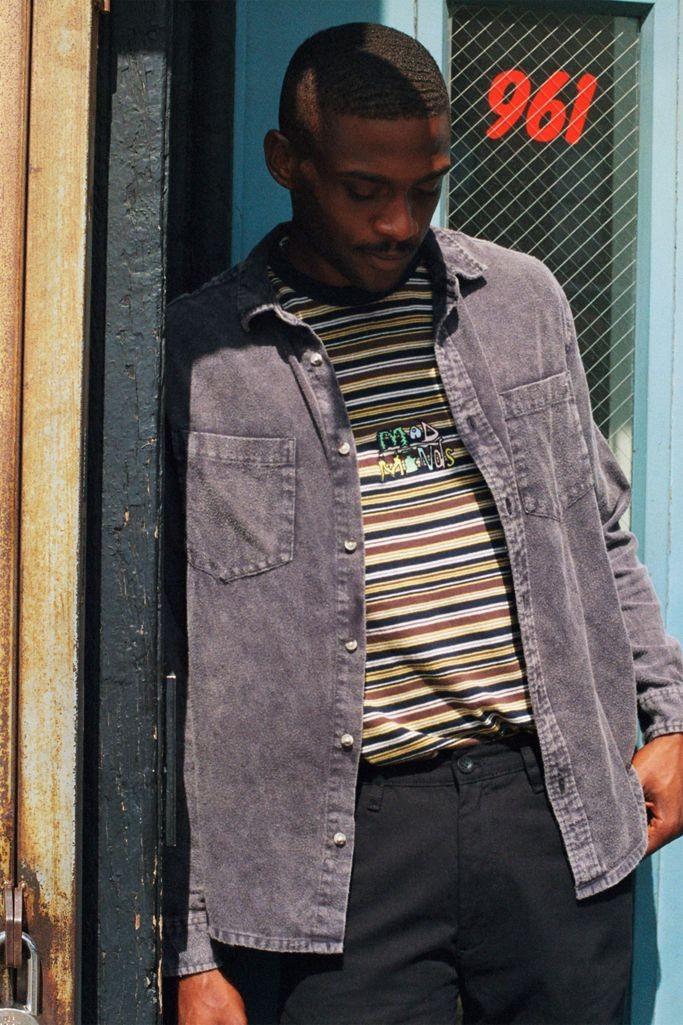 BDG 牛仔衬衫夹克