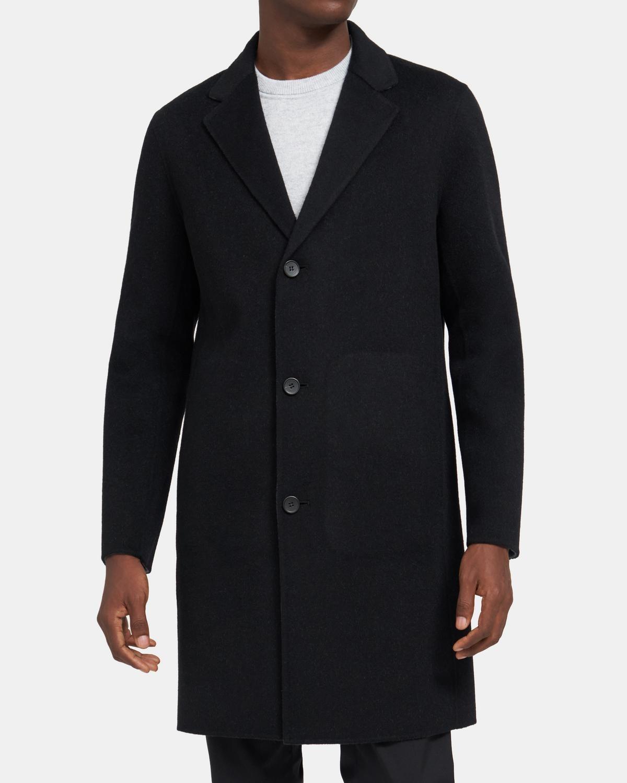 双面羊绒羊毛大衣