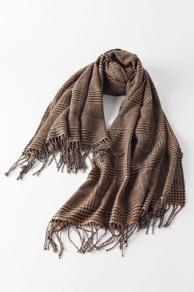 常春藤格子围巾