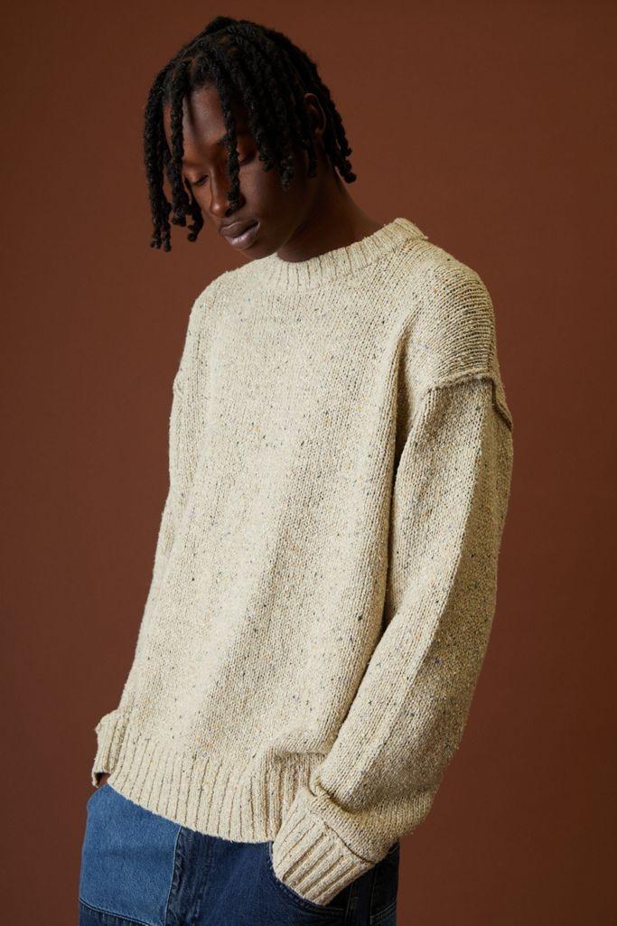 BDG男女同款圆领毛衣