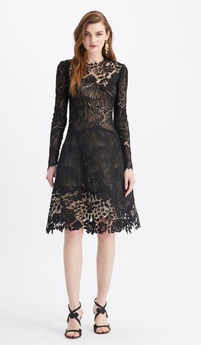 蕾丝礼服裙