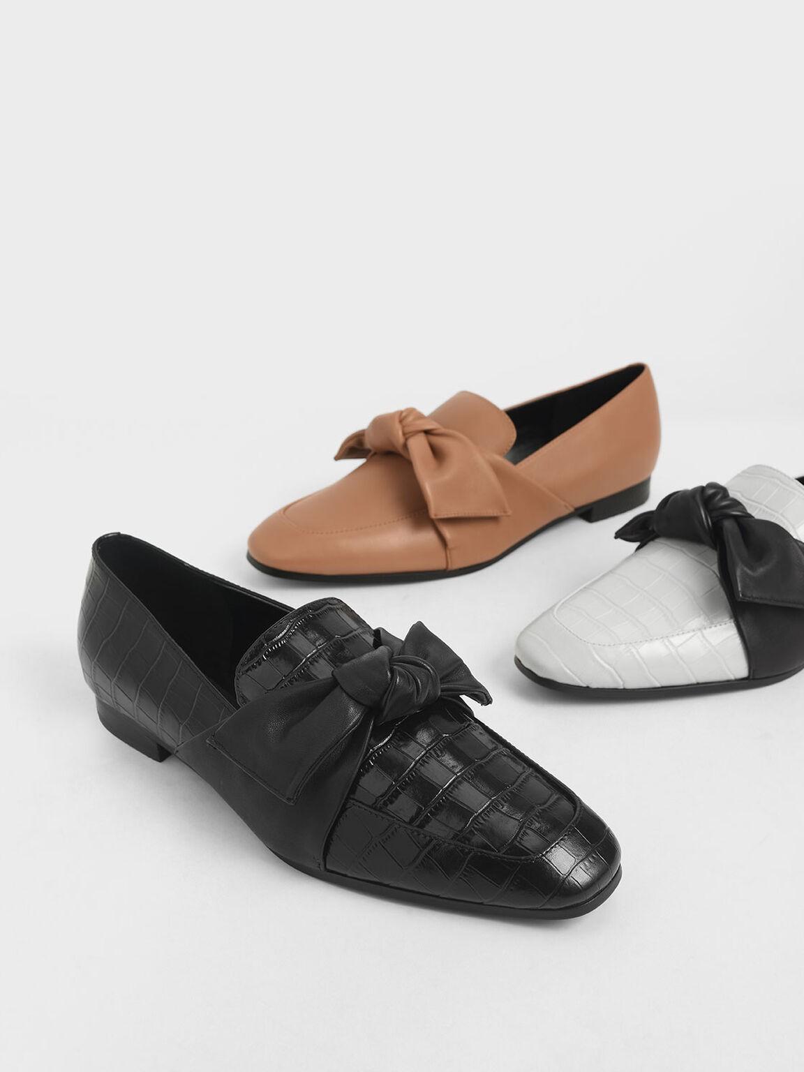 蝴蝶结乐福鞋