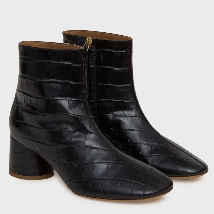 软皮及踝靴