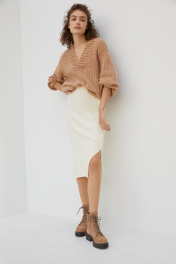 Desiree Knit Midi Skirt