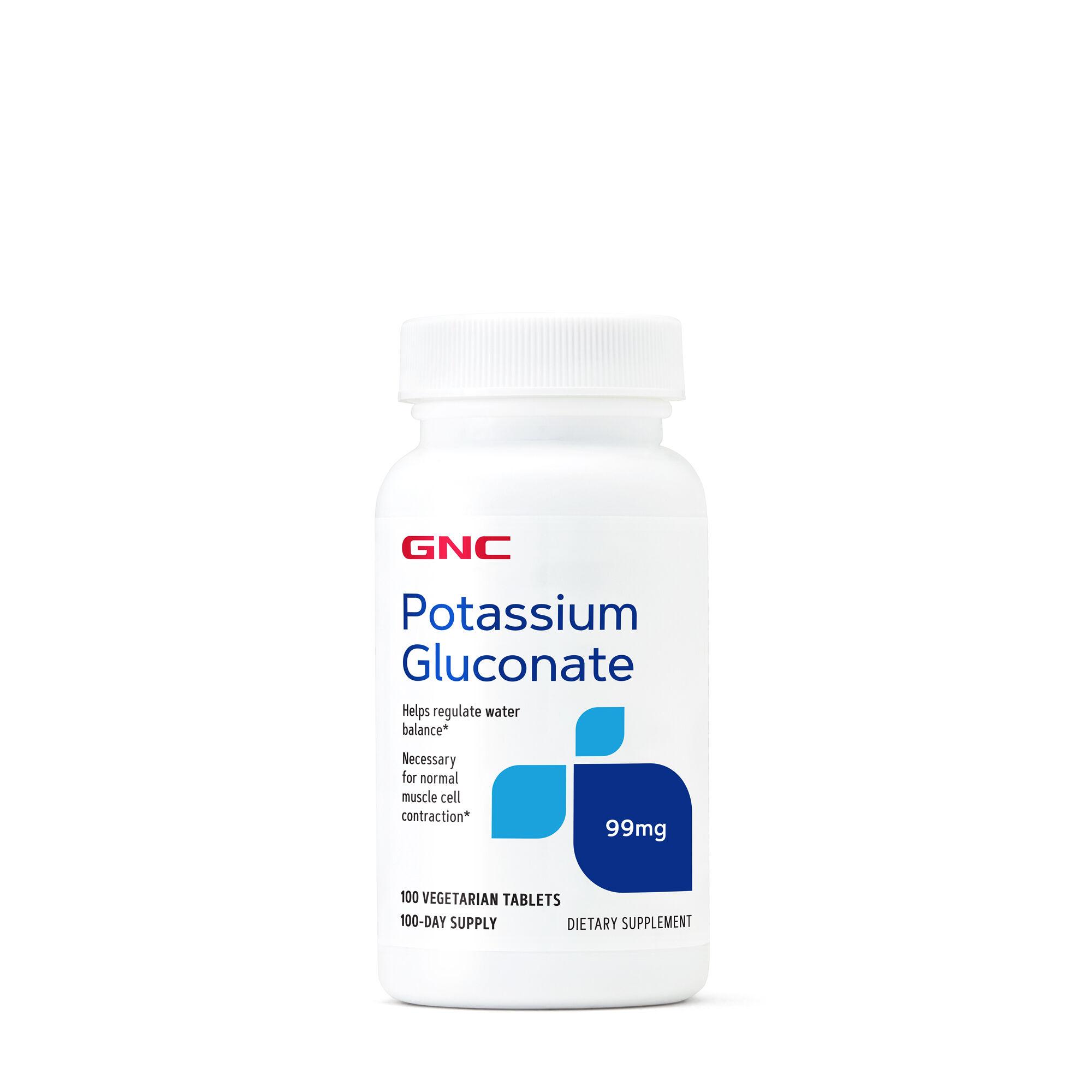 GNC葡萄糖酸钾